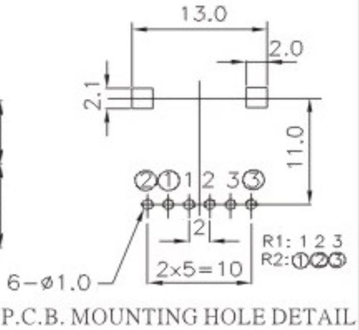 50k logarithmic potentiometer 10pcs
